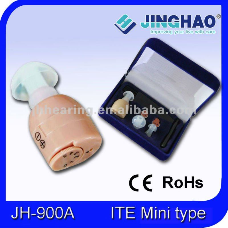Internal hearing aid earphone and cleaning tools (JH-900A)