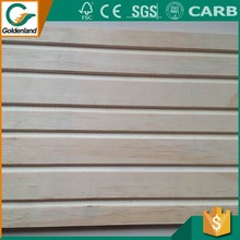 Slotted plywood,plywood grooved wall panels,tongue and groove plywood