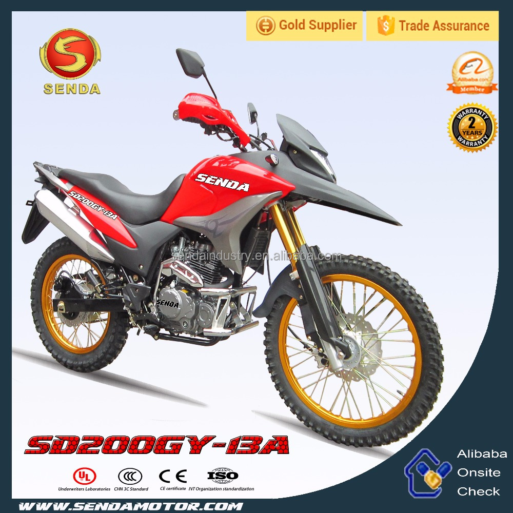 Best Selling New 200CC 250CC Dirt Bike XRE 300 With High Quality SD200GY-13A