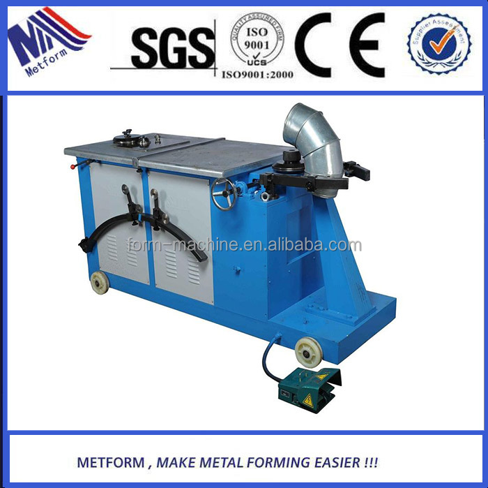 Factory direct sale Elbow making machine,round pipe elbow forming machine for HVAC