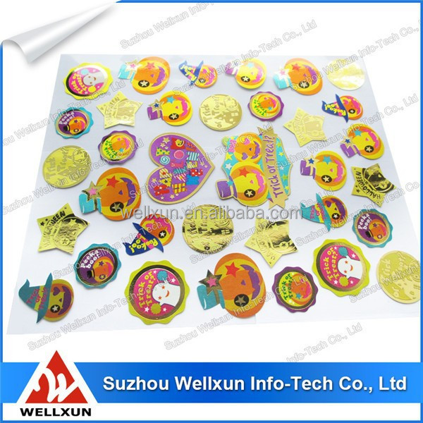 Durable 3d hologram maker stickers label tag