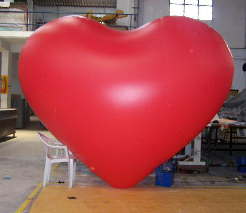 Balloon Type Advertising Giant Inflatable Helium Red Heart