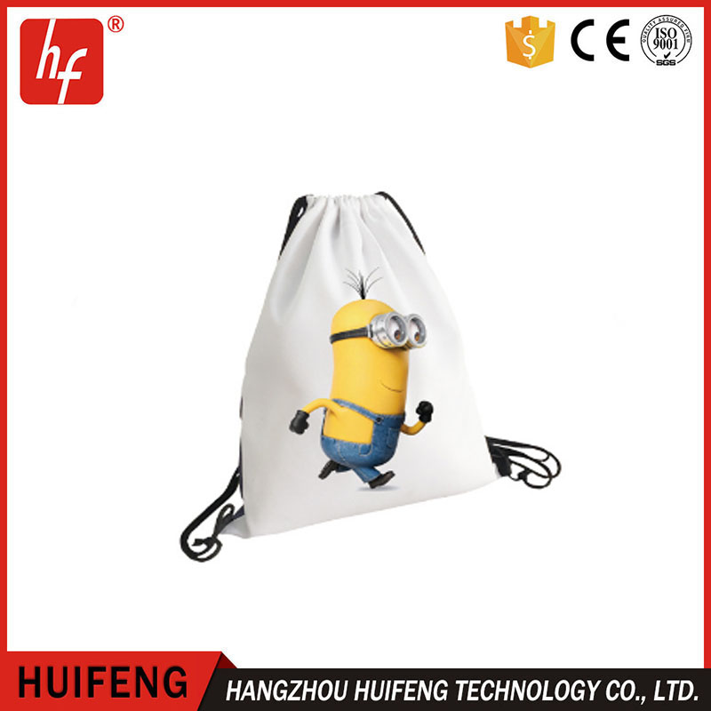 blank shopping bags,sublimation polyester draw string bags,DIY Oxford cloth