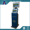 Outdoor Dual Touch Screen Kiosk with Cash and Coin Acceptor
