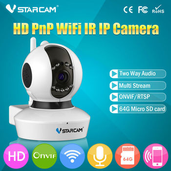 VStarcam C23S HD 1080P indoor ip camera support ONVIF wifi wireless p2p security ip camera