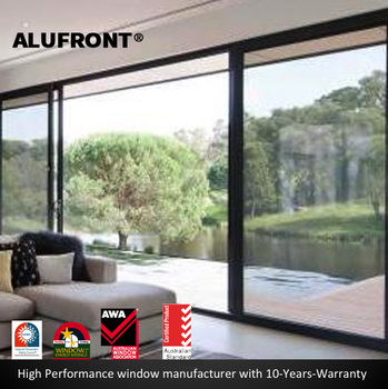 US certified and Australia certified thermal rating and acoustic aluminium sliding door