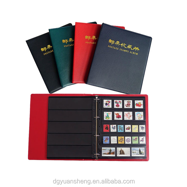best selling stamp album/folder in different colors