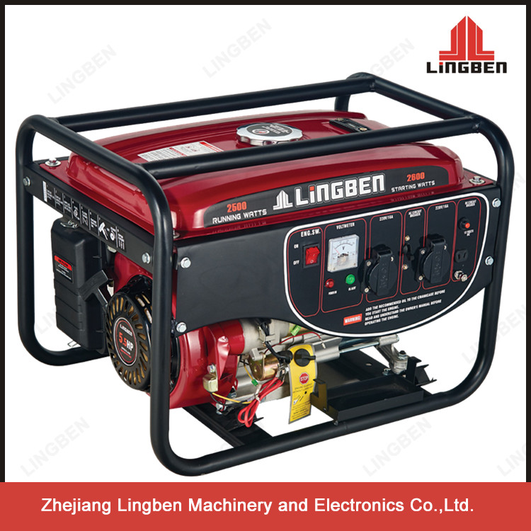 3KW Popular Portable Generator Gas 12Volt dc Small Generators For Sale LB2600DXE-C1