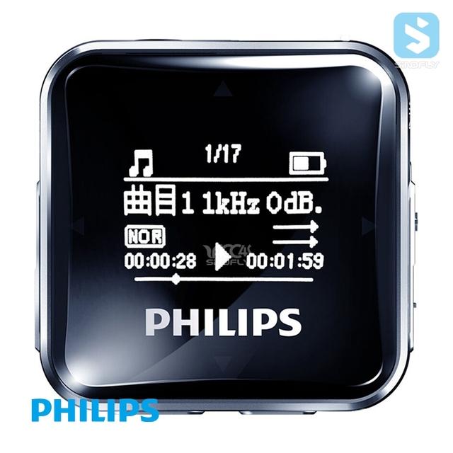 Built in speaker Portable digital mini fm radio Philips SA2208 mp3 player