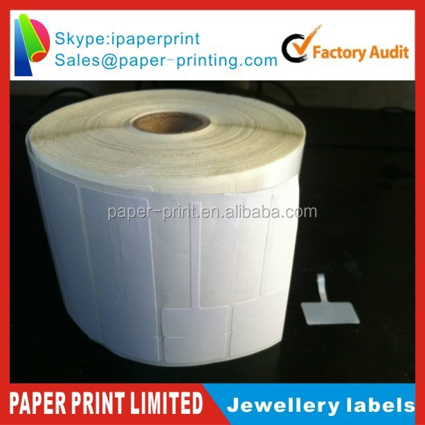 jewellery barcode sticker labels,numerical printed labels, jewelry rolls