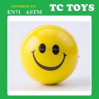 anti stress ball with smile face