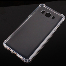 High Quality Anti Shock Clear Soft Silicone TPU Case for Samsung Galaxy J7 2016