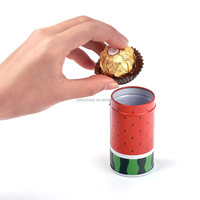 wholesale food packaging tin box rectangular tin box hot selling square moon cake tin box packing HQTB0003