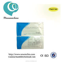 CE marked aids HIV (1+2) one step Rapid diagnostic Test kit