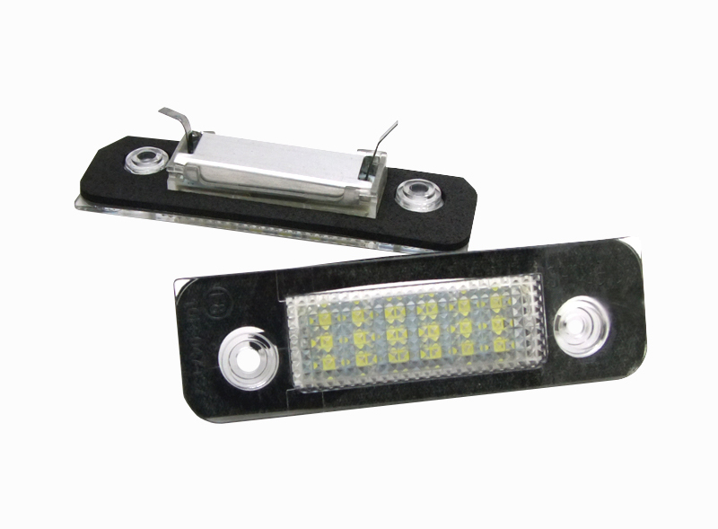 e46 12v 18smd car led license plate for ford Fiesta Mondeo Fusion E8 emark