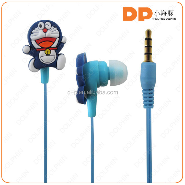 cheap and stylish headphones super bass stereo cute cartoon earphone for apple mobile phone