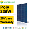 China supplier Factory price 235w solar panels