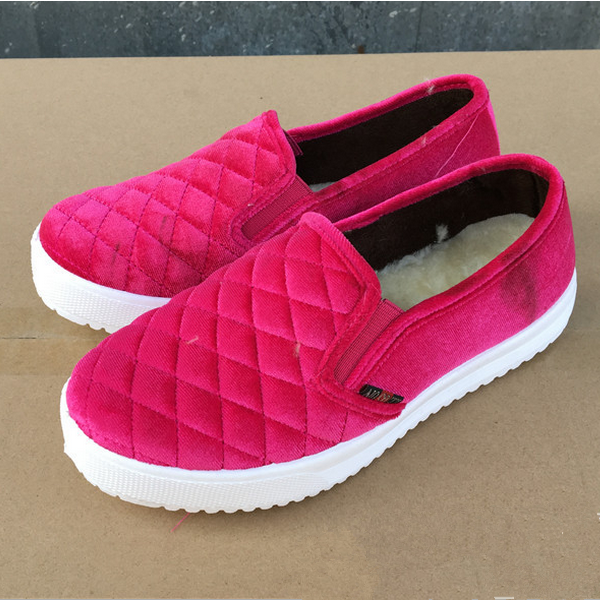 Thickness of women 's shoes plus warm cotton fashion women' s cotton shoes women 's cotton shoes slippers