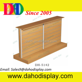 Slat wall display rack for Hardware store