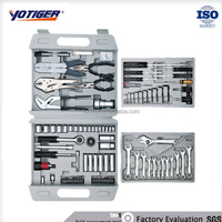 126Pcs Professional Vehicle Repairing Tool Set,Auto Car Emergency Tool Kit