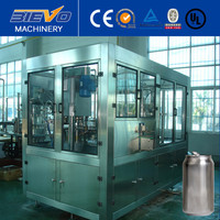 automatic beer canning filling equipment / Can sealing machine