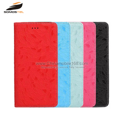 bulk brand new hot selling leather wallet cell phone case for iphone 7