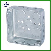 wall mount electrical 4x4 4x2 stainless steel fire resistant junction box