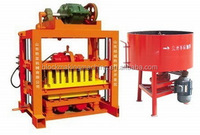 QTJ 4-40 small scale industries paving brick machine concrete hollow block making machine price