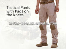 Tactical Training Motorbike Military Airsoft Pants Trousers with Protection Knee Pads