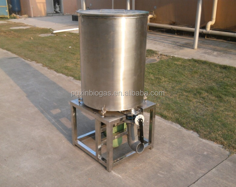 PUXIN Stainless Steel industrial food waste shredder
