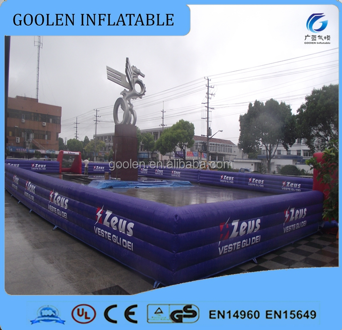 large inflatable football pitch, inflatable football field for soccer bubble