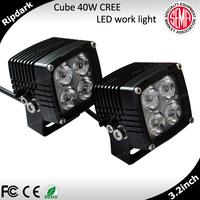 Powerful 10-30v 51w led work light hid work lights for trucks