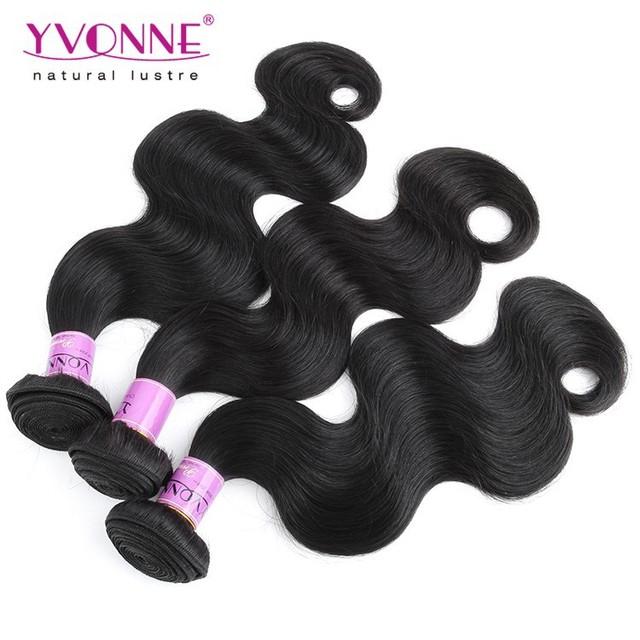 Malaysian Hair Grade 5A Body Wave Human Hair Weaving