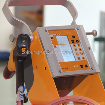 New Electrostatic fluidized bed Powder Coating Gun DVC technical CL- 191S powder coating equipment