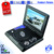 7 inch mini screen portable DVD player with game USB TV and radio function