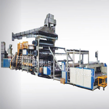 New design cpp cast film machine in china production line