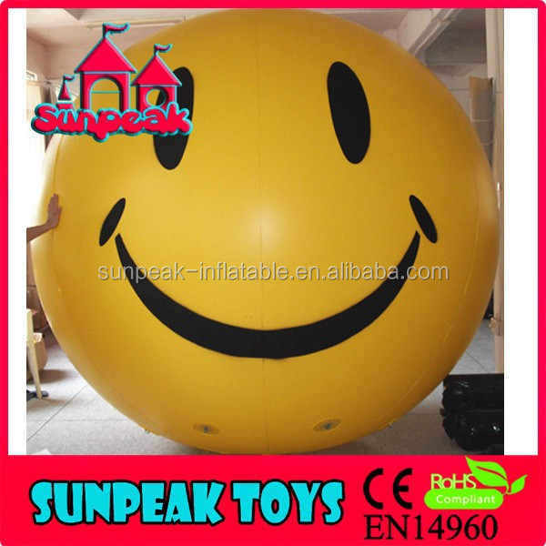 BL-003 Giant Smiley Emoji Face Inflatable Advertising Balloon
