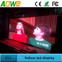 Large indoor led display/P2.5 led video panel/2.5mm LED screen