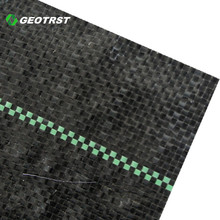 Factory supply woven geotextile weed control mat for greenhouse floors /container nurseries