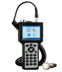 portable vibration meter with FFT