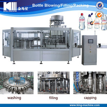 3 in 1 pure water washing filling capping machine