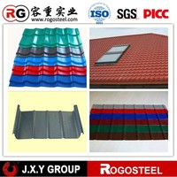 economy type of ral color corrugated GI steel sheet for roofing