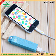 Colorful milk power bank promotional gifts creative company gift for customers OEM from Evergreentech