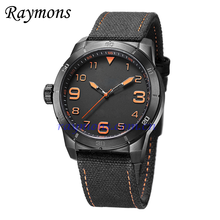 Customized logo fluorescent hands index sport watch
