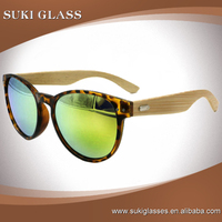 Promotion Factory price plastic frame bamboo sunglasses