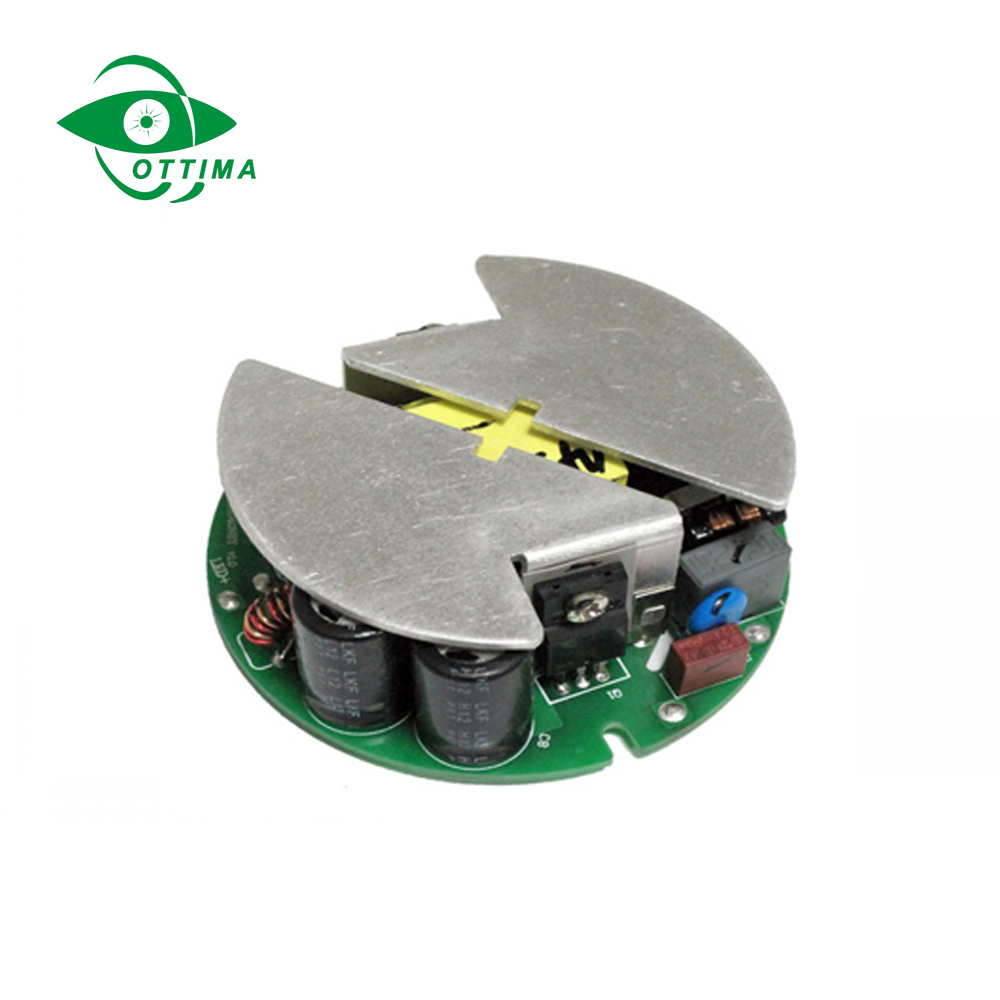 CE FCC Approved outlet 12w 500ma ac dc switch mode power supply with round shape design