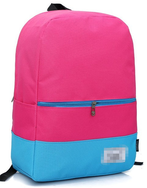 new product hot sale canvas backpack China school bag