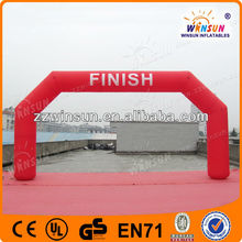 Mega event Inflatable racing finish arch, inflatable sports arch