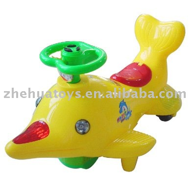 4CH Battery Operated Dolphin Versatile Mini Ride on Car