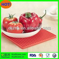 printed silicon mat for cooking,pig mat,oval shape mat